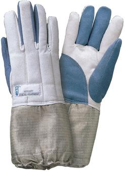 "d31-311/E Electric sabre washable glove BLUE/GREY ""PBT"""