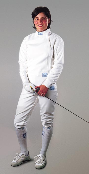 30-17 Fencing jacket 350N Children