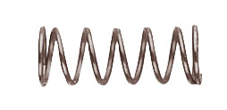 39-72/B Epée point contact springs per 10