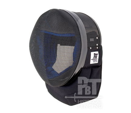 HM10 - Black fencing mask for historical fencing 350N