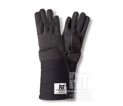 HM13 - Pair of gloves for historical fencing (washable, padded)