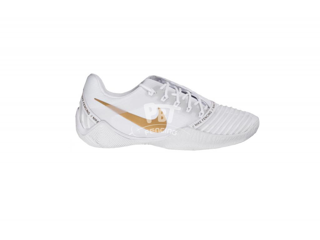 NIKE Ballestra 2 fencing shoes - White/Gold