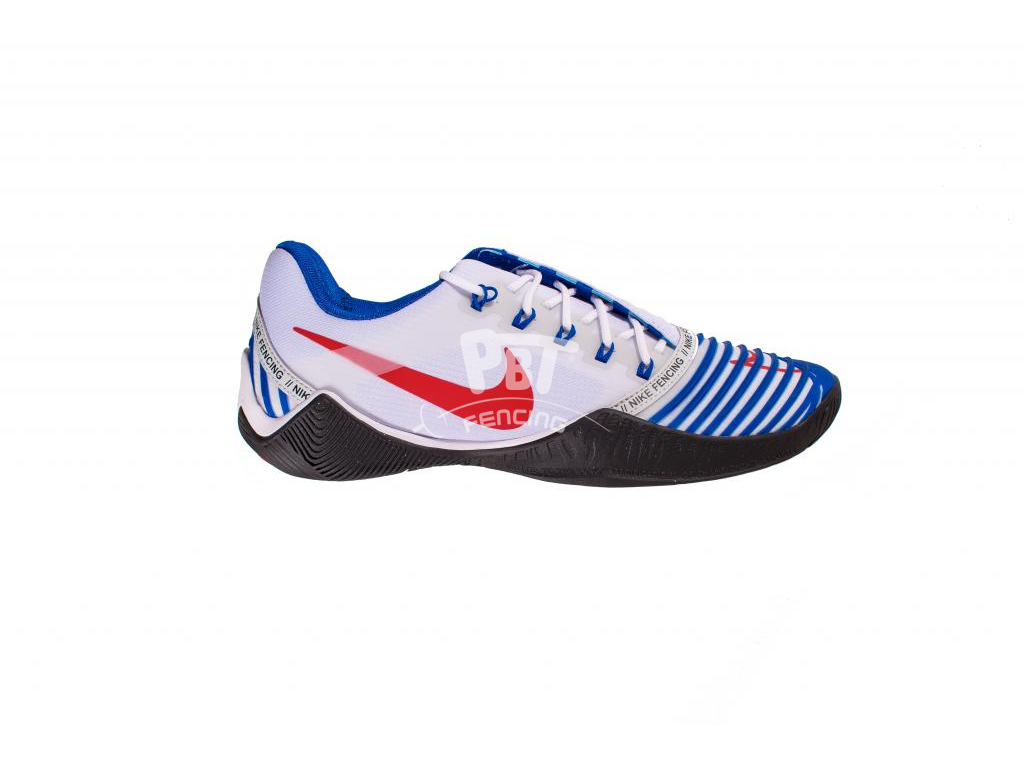 NIKE Ballestra 2 fencing shoes - Navy/Red
