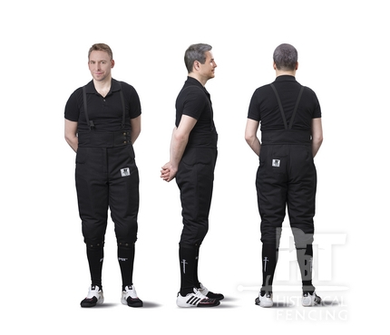HM21M - Elastic full protection HEMA pants 350N for men