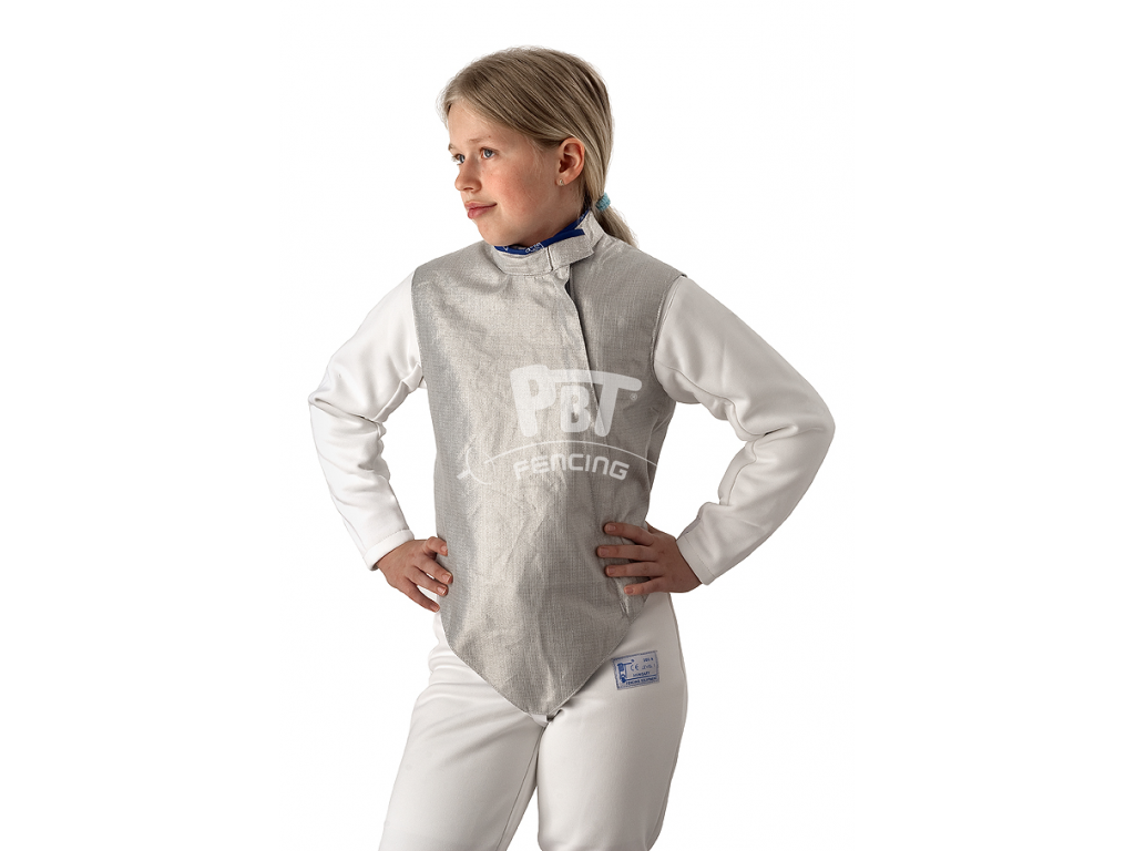 21-6/M Electric foil jacket PBT Children (inox, washable)