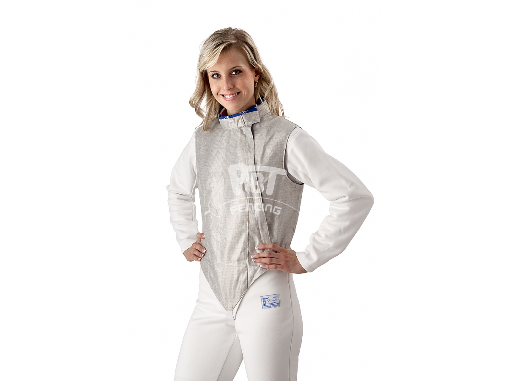 19-5/M Electric foil jacket PBT Ladies (inox, washable)