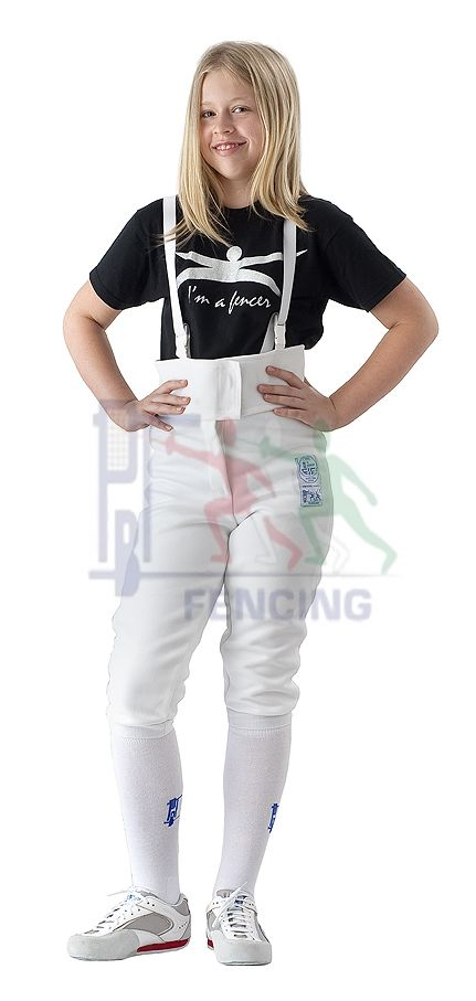 23-003/1 Fencing pants FIE SUPERLIGHT 800 N Children