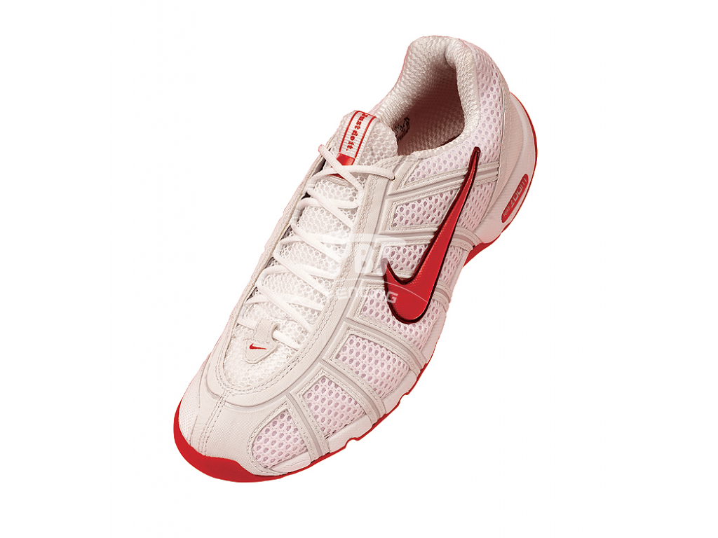 NIKE Ballestra fencing shoes - Red swoosh