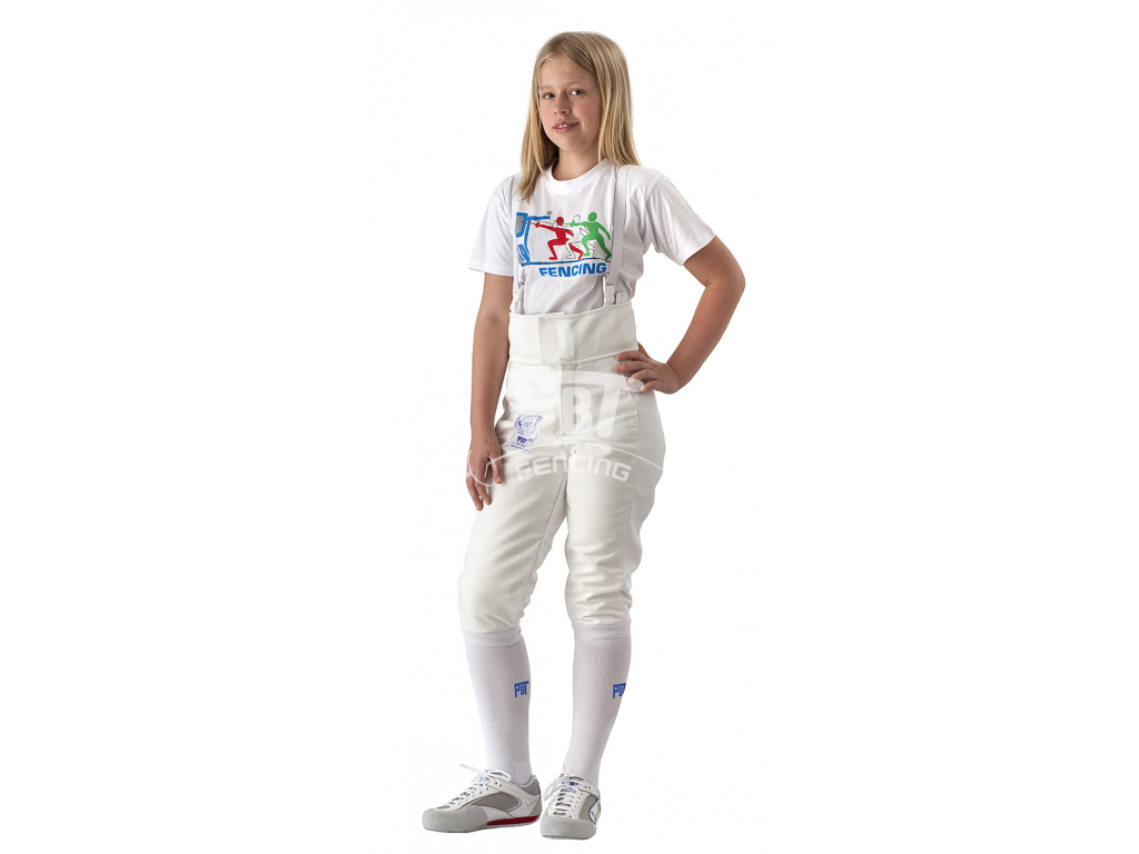 23-010 Fencing pants FIE BALATON 800N Children