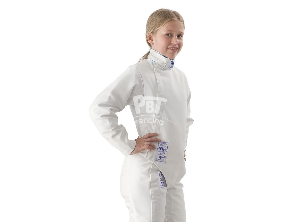 23-007 Fencing jacket FIE BALATON 800N Children