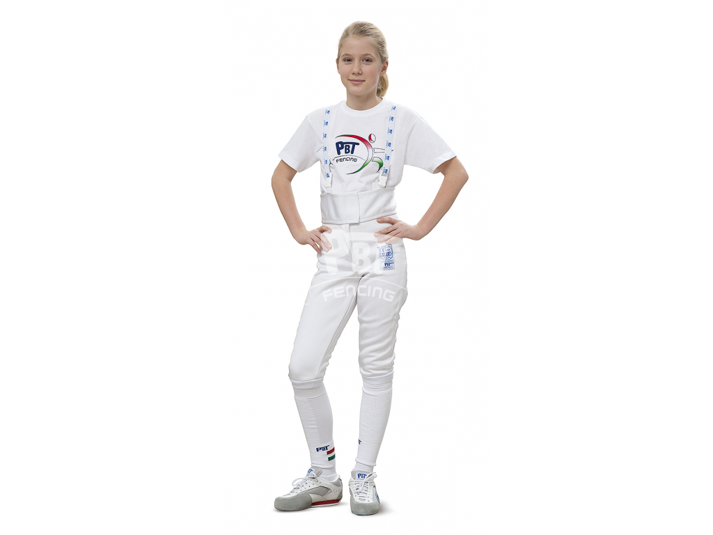 24-203 Fencing pants FIE STRETCHFIT 800N Children
