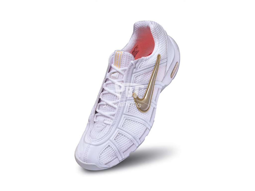 NIKE Ballestra fencing shoes - White/Gold (7-11)