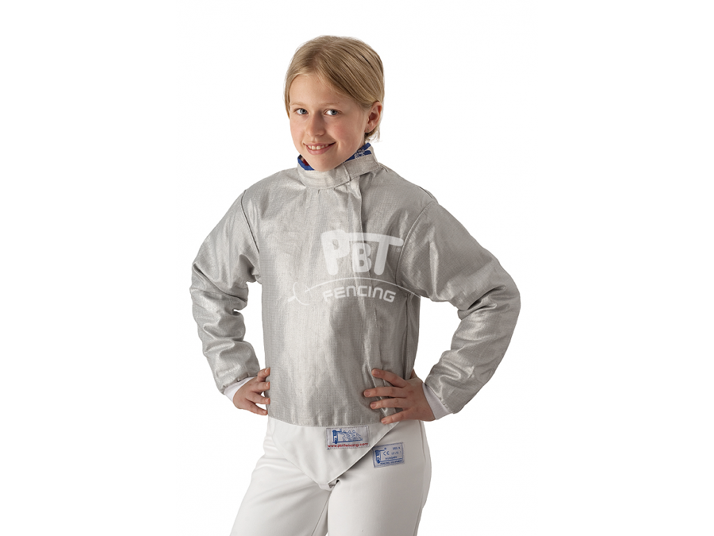 18-40/M Electric sabre jacket Children (INOX, washable)