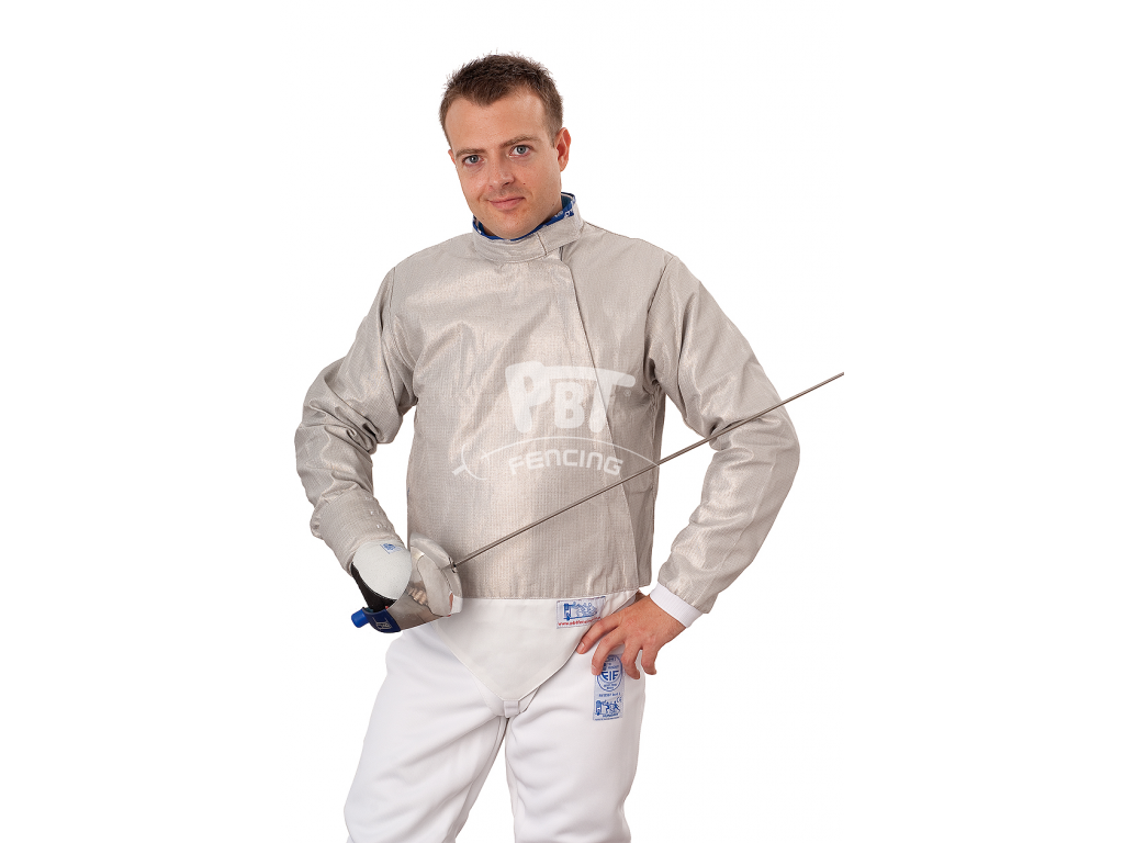 18-4/M Electric sabre jacket Man (INOX, washable)