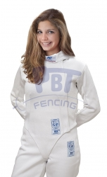 24-101 Fencing jacket FIE STRETCH-FIT PBT 800 N Lady