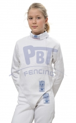 24-103 Fencing jacket FIE STRETCH-FIT 800 N Children