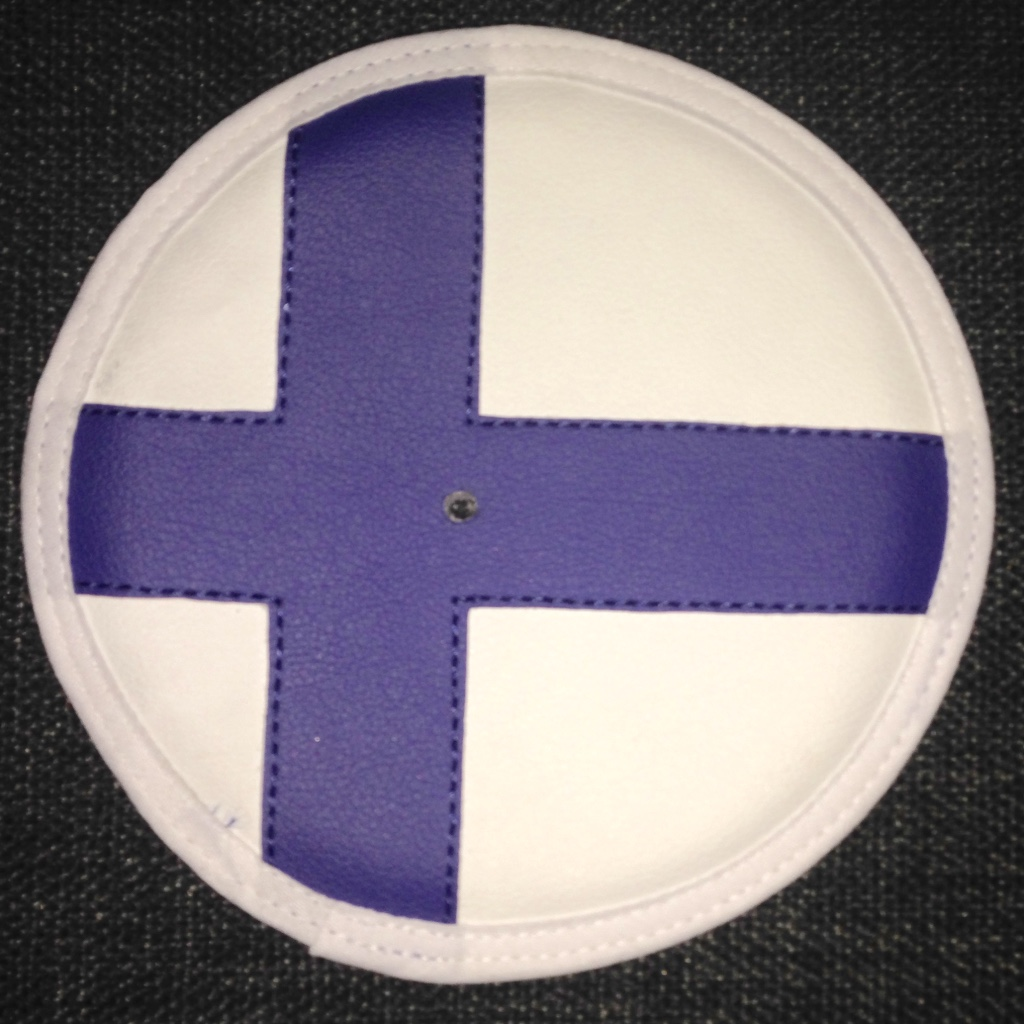 41-81/XFIN Leather epée guard pad Finland
