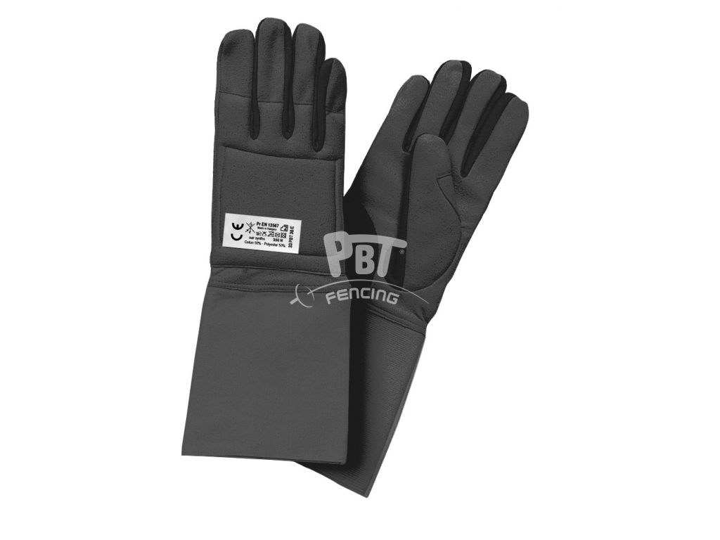 e31-35/E Coach glove BLACK for foil and epée lessons