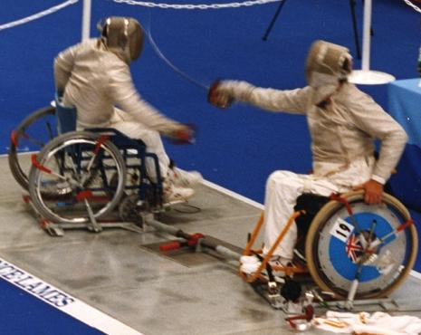 Wheelchairfencing